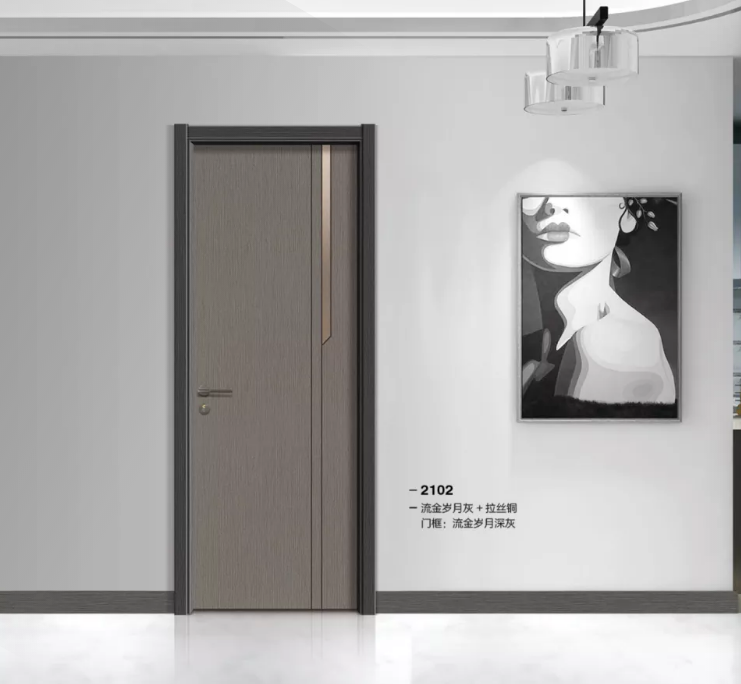 工程門請選廣東紅海豚木門廠環保免漆門