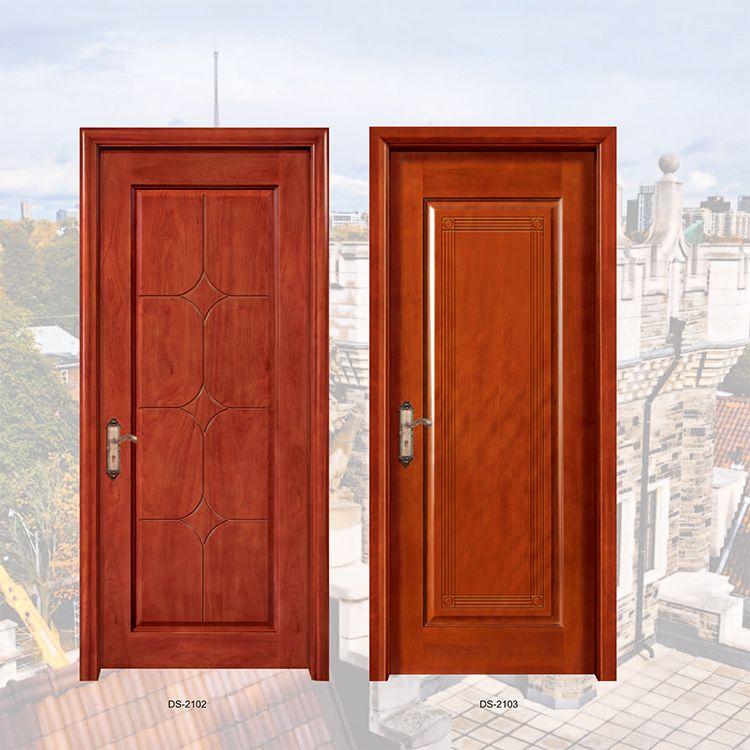 广东木门红海豚橡胶木门单池板、平雕门系列