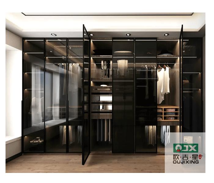 南京门窗厂-欧吉星门窗-玻璃平开门Y89