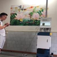多功能墻畫打印機高清彩繪機5D墻繪機立式繪畫機新農村美化機器
