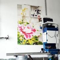 5D喷绘景区设备户外广告宣传壁画打印机墙上绘画机个体创业机