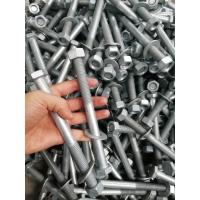 熱鍍鋅螺栓,國標8.8級六角螺栓和4.8級護欄螺栓,現貨