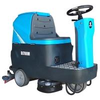 鼎洁DJ-700驾驶式洗地机停车场保洁设备