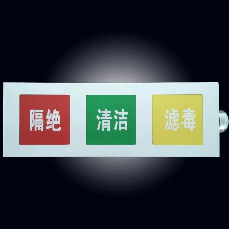 人防通风方式信号指示灯箱(人防音响信号灯箱)