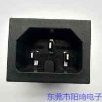 供应新品带热态认证卡式品字插座