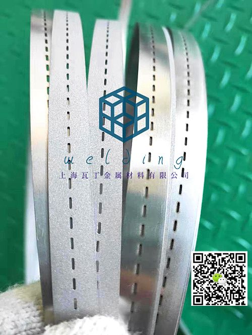 太陽能硅鋼片串焊機鋼帶 打孔定位鋼帶  不銹鋼打孔加工-- Welding