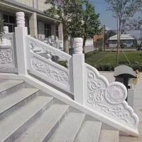 湖南汉白玉,汉白玉栏杆厂家、专业石材栏杆定制