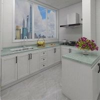 铝合金橱柜,钛镁铝合金橱柜,定制橱柜