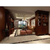 全屋定制 圣迭戈系列 榻榻米房书房家具 古典风格