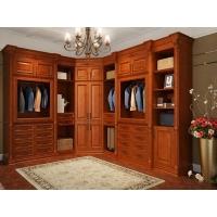整體衣柜定制臥室歐式古典衣帽間整裝定制多功能儲物柜