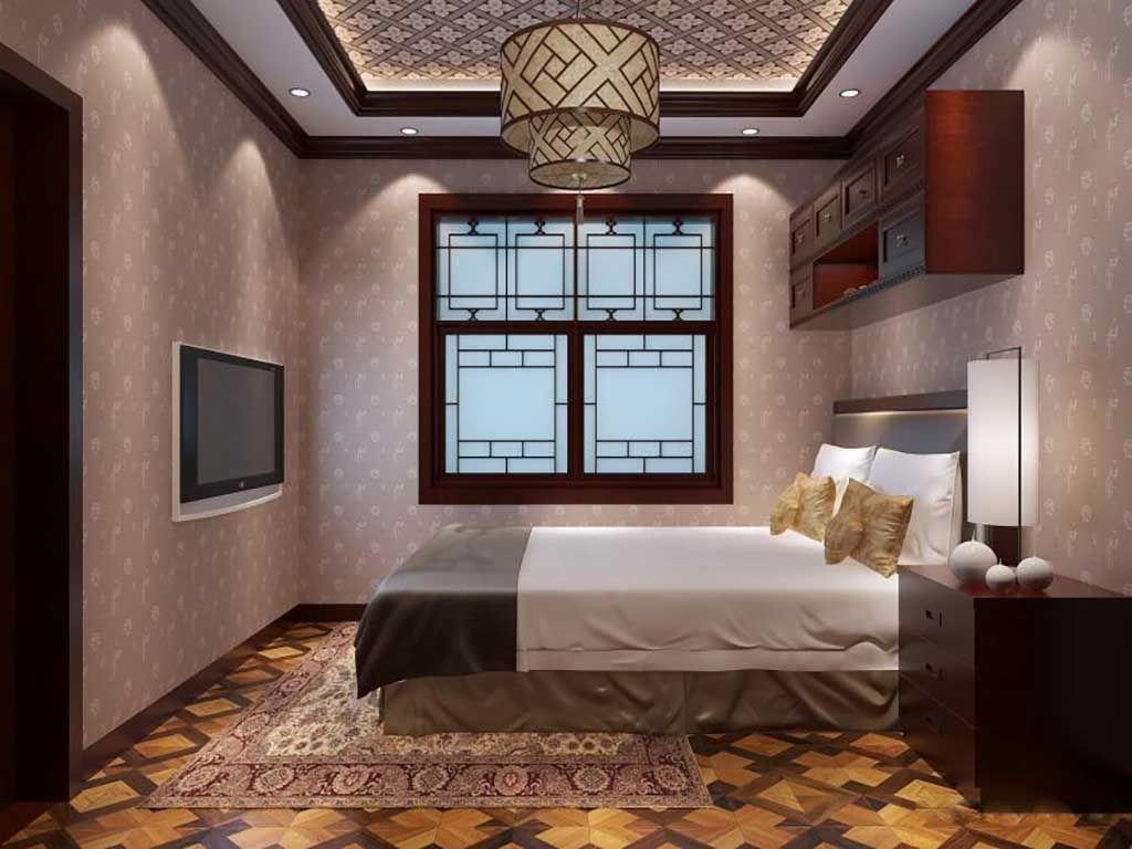 中式衣橱衣柜板式简约现代多门卧室木质衣柜组装定做
