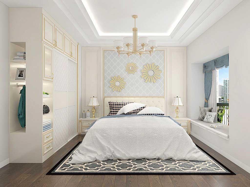 衣柜推拉门欧式简约现代经济型卧室家具组装实木板式移门定制