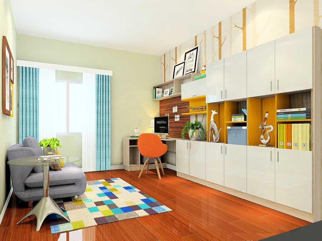 桌子书房定制整体衣柜组合桌子现代简约台式家用转角桌
