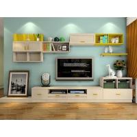 简欧客厅实木茶几电视柜组合现代简约小户型美式轻奢简易地柜