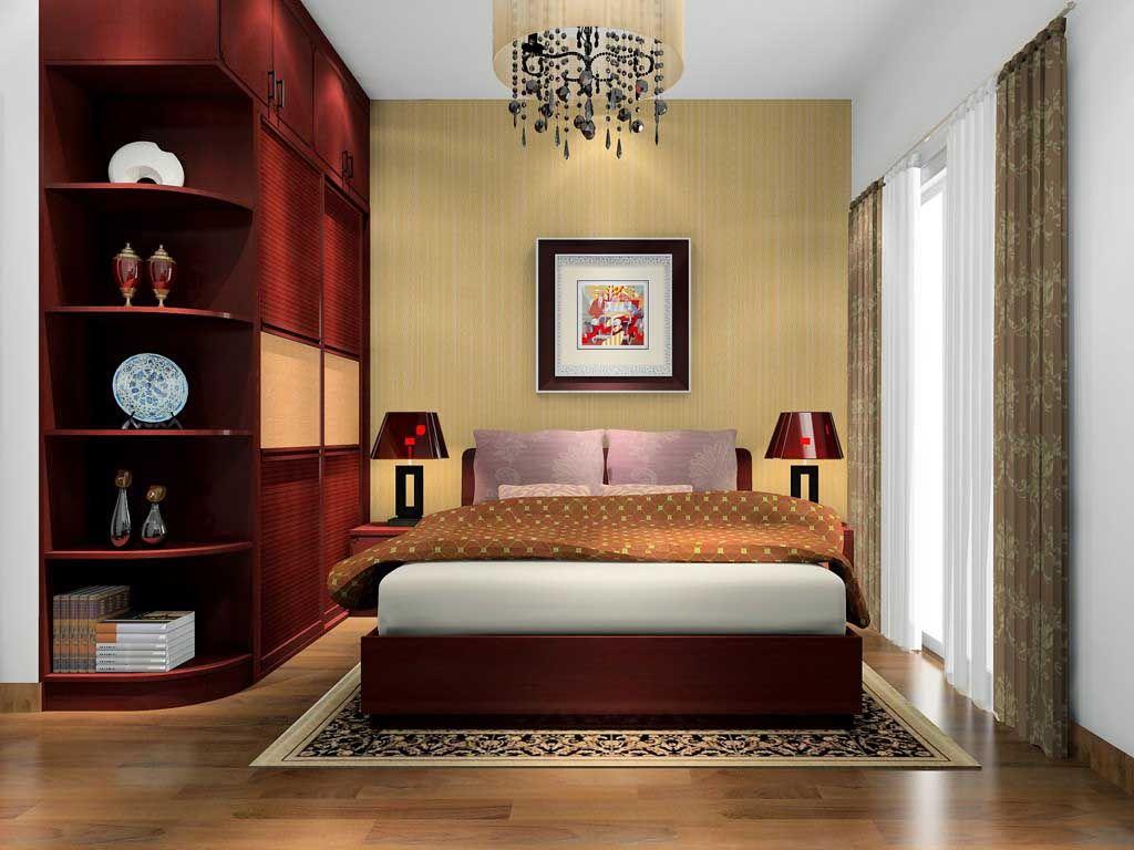 中式衣柜板式简易组装衣橱经济小户型家用卧室家具定做
