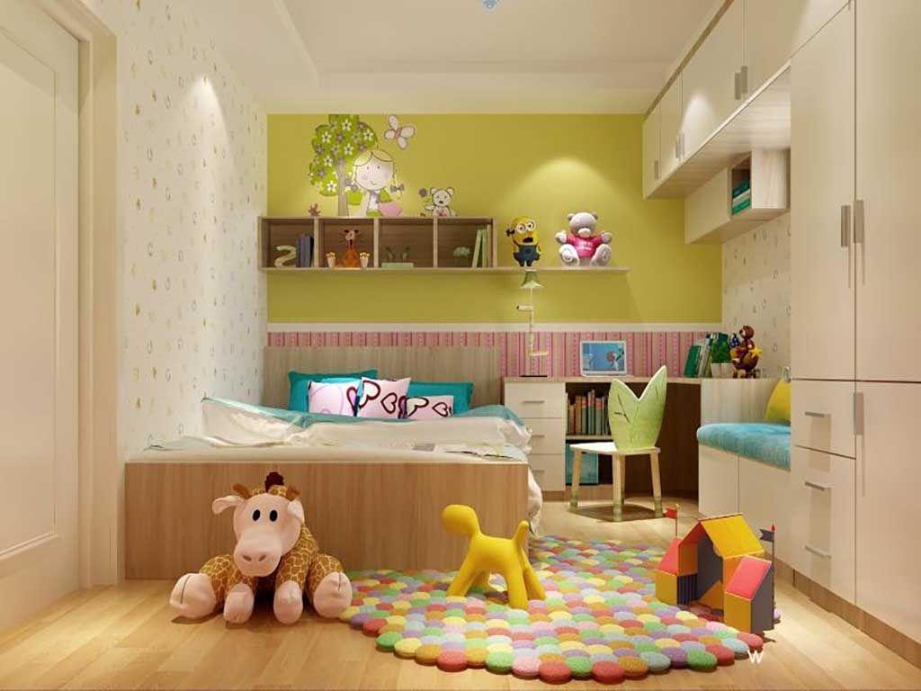 儿童房榻榻米板式床全屋定制多功能组合整装单双人床