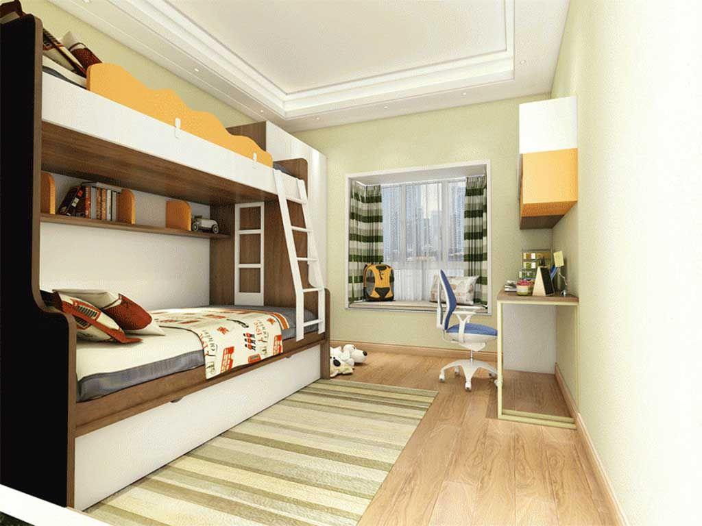 全屋定制 儿童房套装整装榻榻米衣柜书桌卧室多功能家具组