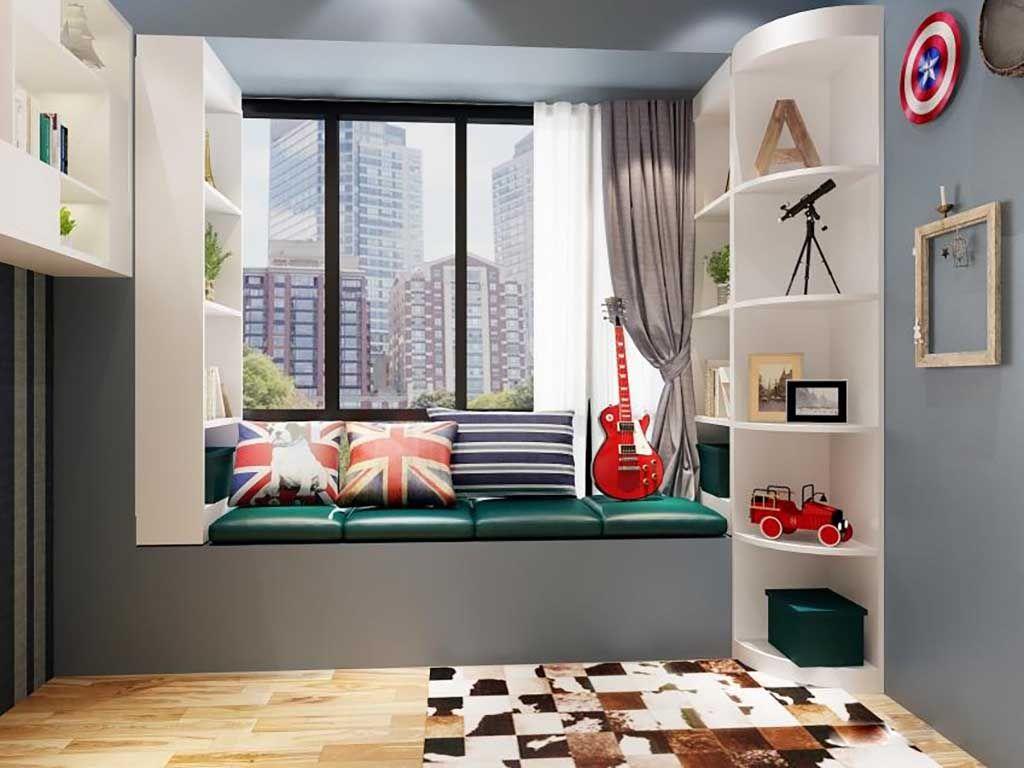 整体儿童房衣帽间衣柜定制卧室整装定做全屋家具定做