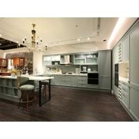 欧式整体橱柜定做开放式厨房厨柜定制石英石台面全屋定制