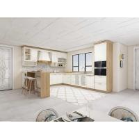 整体橱柜定做欧式水曲柳实木厨柜定制厨房橱柜装修石英石