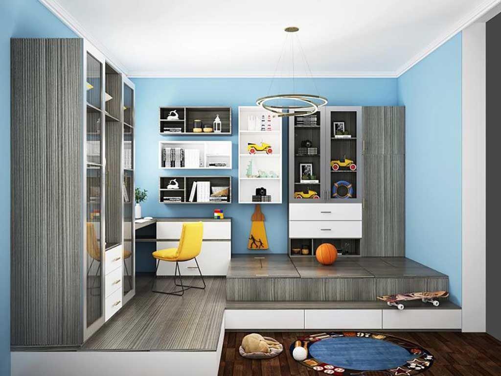 定制榻榻米 全屋家具整装书房衣柜卧室整体飘窗桌踏踏米床