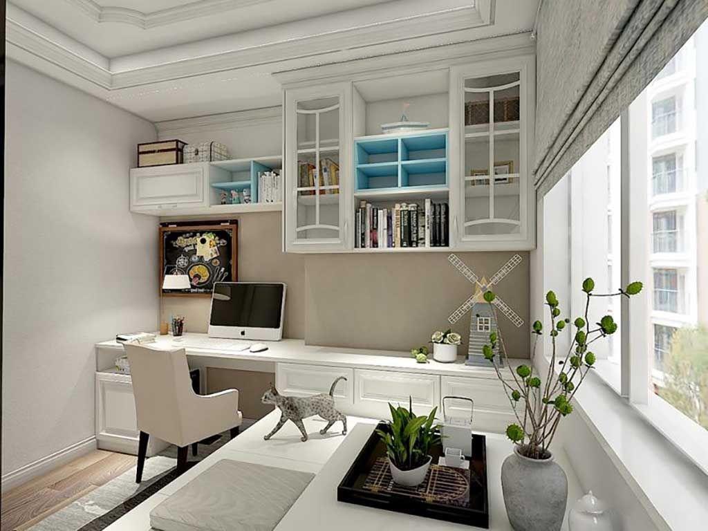 定制榻榻米空间全屋家具定制 多功能飘窗书房家具整装定制