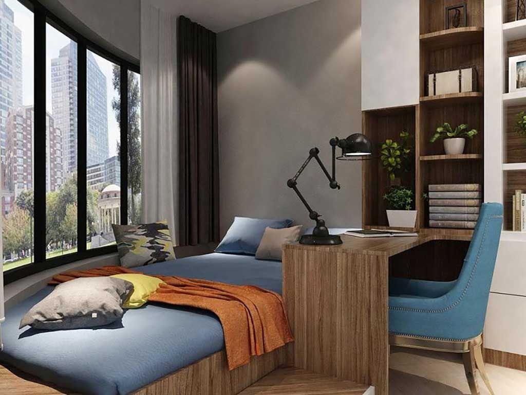 家具定制现代简约榻榻米床卧室书房书桌组合定制全屋整装