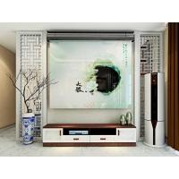 中式簡約電視柜組合現代簡約小戶型伸縮客廳套裝地柜家具