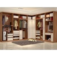 現代平開門整體衣柜衣帽間定做北歐開放式衣櫥全屋家具定制