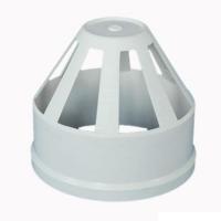 PVC排水管件透氣帽 PVC排水通風帽  PVC廠家直銷管材