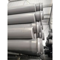 φ110農田灌溉管排水管 地埋式塑料管材 PVC-u農灌管廠