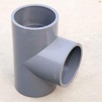 PVC給水正三通φ160UPVC平面三通pvc-u給水管件