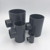 pvc抗壓耐老化給水管道配件PVC變徑三通UPVC異徑三通