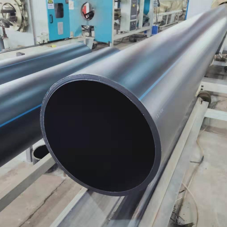 PE自來水管HDPE城市供水管pe黑色塑料管抗沖擊耐老化管材
