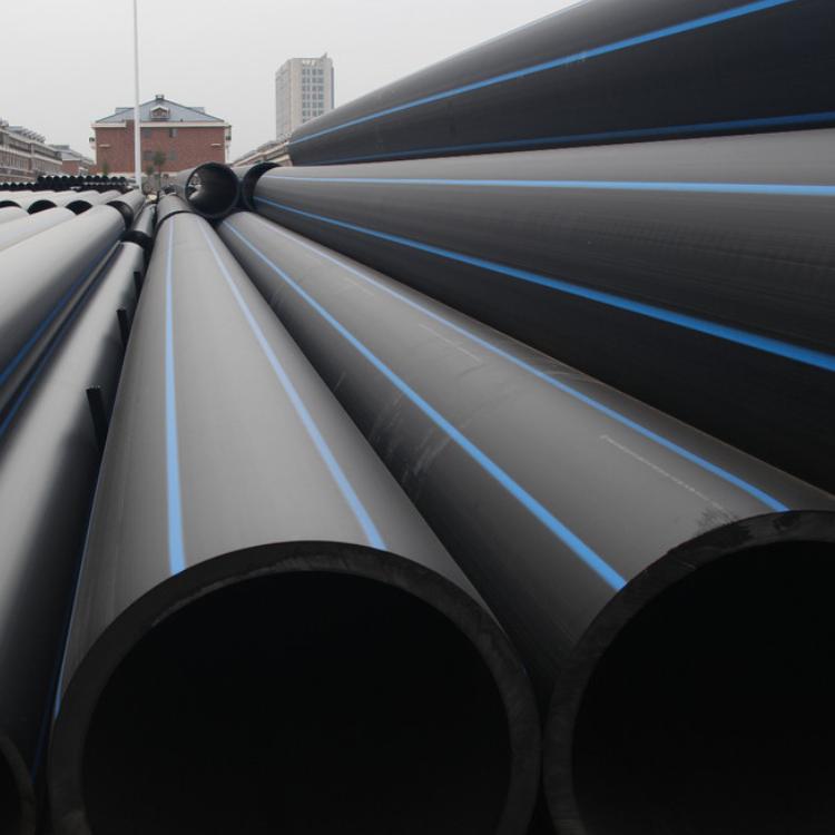 PE100級綠色環保給水管高密度聚乙烯管PE黑色管材抗沖擊