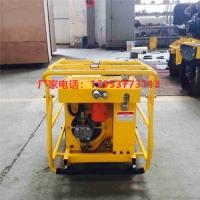全液壓透水動力站單滾軸滲水地面找平機一輥軸液壓式鋪平機
