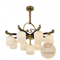新中式全铜灯饰-专业灯饰生产厂家-铜木源