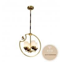 新中式灯具特点-灯饰批发-铜木源灯饰