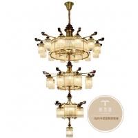 新中式灯具-专业灯饰品牌-铜木源