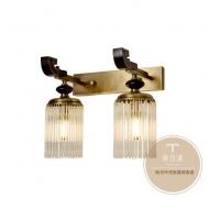 四合院**灯-新中式灯饰定制-铜木源灯具