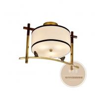 新中式吸顶灯-中式风格吸顶灯具-铜木源灯饰