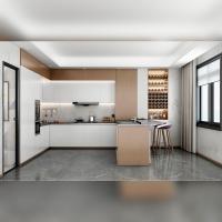 现代极简・厨房