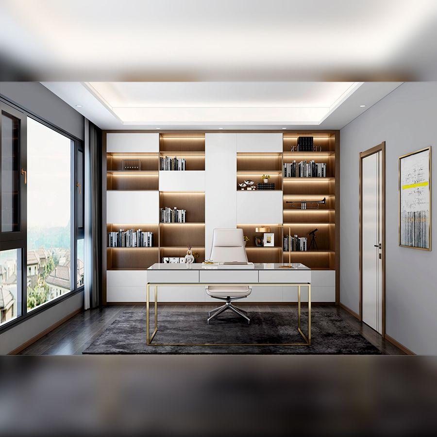 现代极简・书房