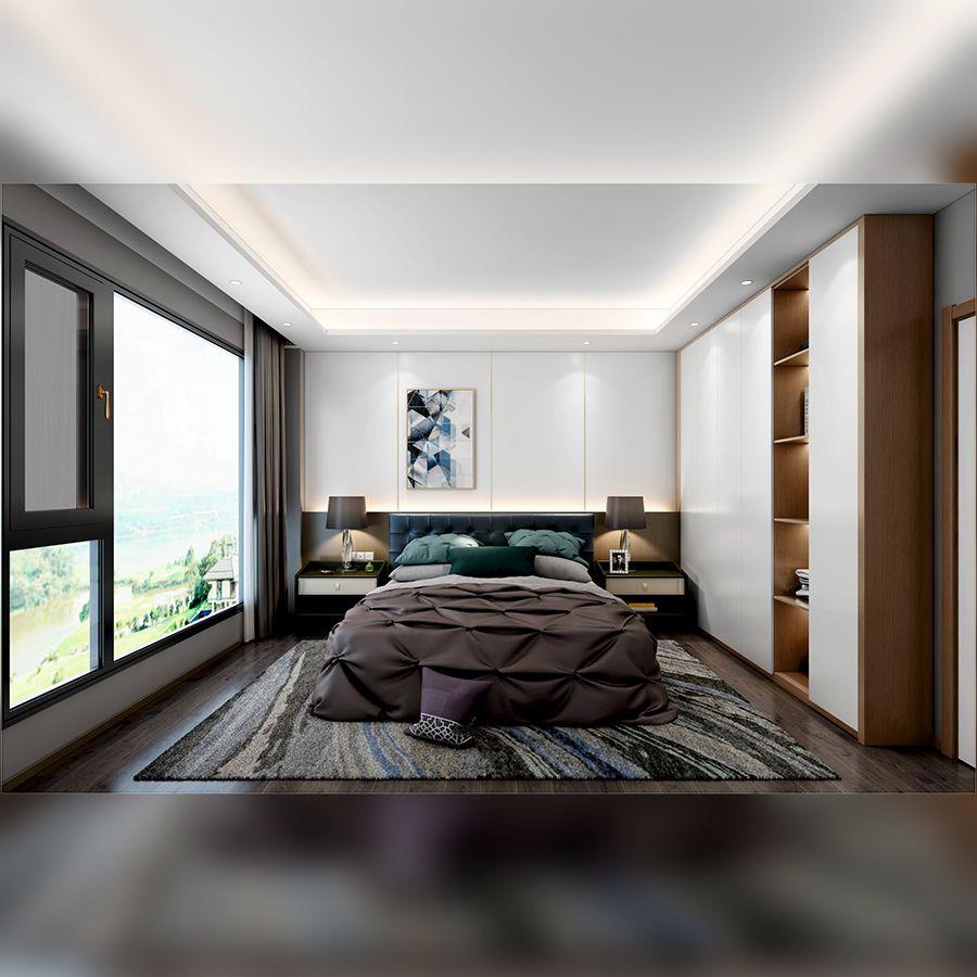 现代极简・卧室