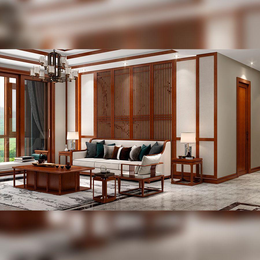 新中式・客厅