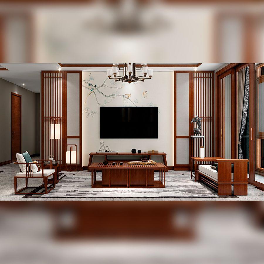 新中式・客厅1