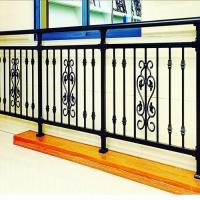 别墅阳台护栏铝合金护栏不锈钢栏杆铁艺护栏锌钢阳台护栏