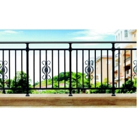 铝艺别墅护栏 小区铝艺护栏 铝合金阳台护栏