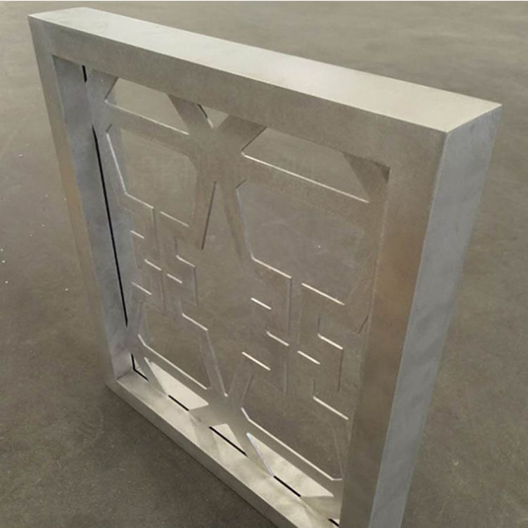 铝方通方管型材焊接中国风铝窗花 艺术铝板雕刻窗花