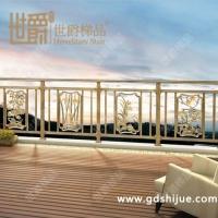 古典复古中式铝合金奢华梅兰竹菊精致阳台护栏安全护栏
